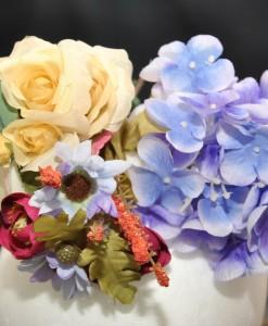 Flor de lys tocado